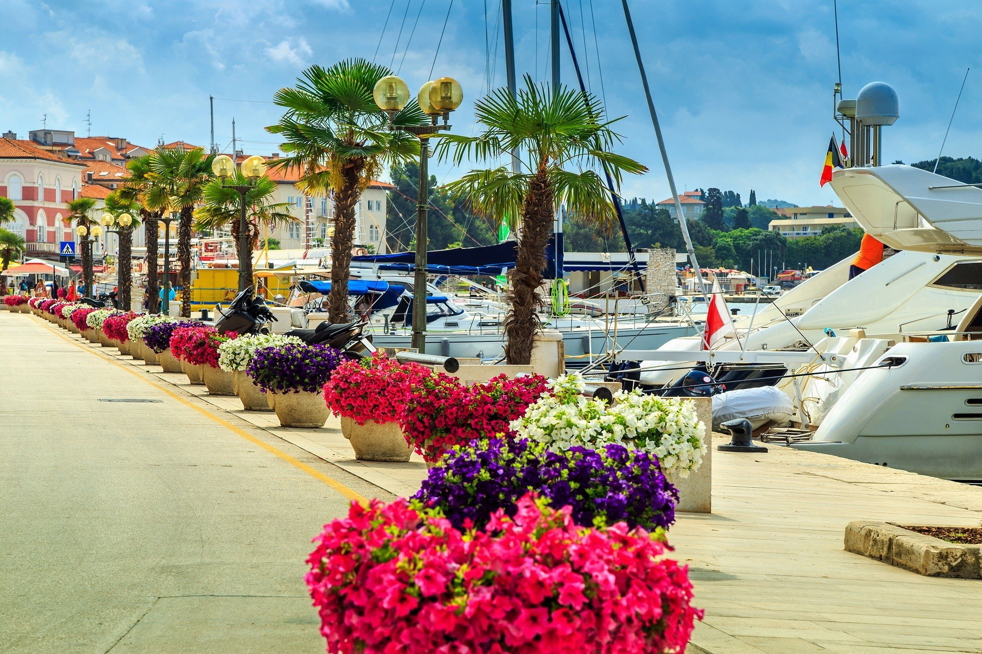 Maak een mooie individuele autorondreis door Kroatie en ontdek de Plitvice Meren en Premantura