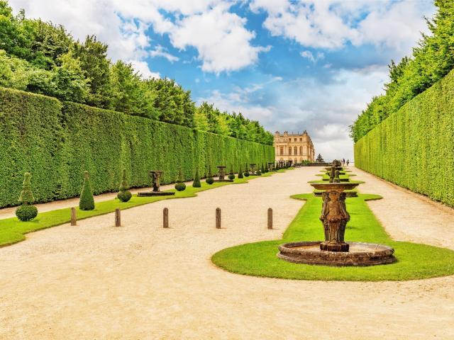 Paleis Van Versailles Tuin.4 Hotel In Een Groene Omgeving Nabij Versailles En Parijs
