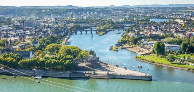 Dagaanbieding: 3 dagen luxe 4*-hotel in Koblenz incl. ontbijt en 3-gangendiner