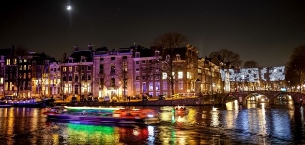 Dagaanbieding: 2 of 3 dagen naar het Amsterdam Light Festival incl. 4*-hotel