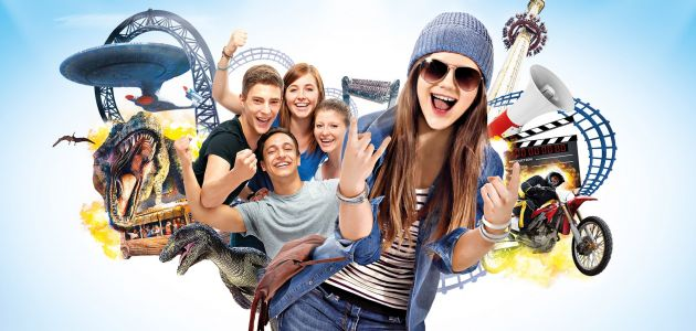 Dagaanbieding: 2 dagen entree Movie Park Germany incl. overnachting bij Oberhausen