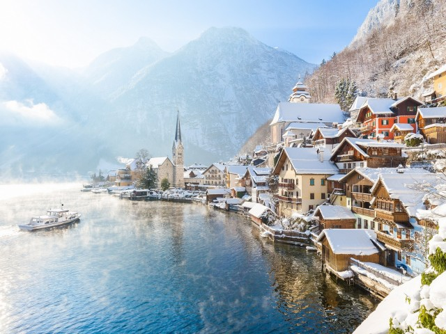 Verblijf deze winter o.b.v. ultra all-inclusive nabij <b>Salzburg</b> en <b>Hallstatt</b>