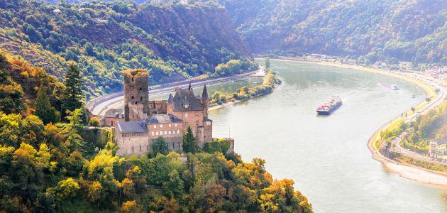 4 of 5 dagen kastelen en wijngaarden in de romantische Midden-Rijn o.b.v. halfpension incl. boottrip