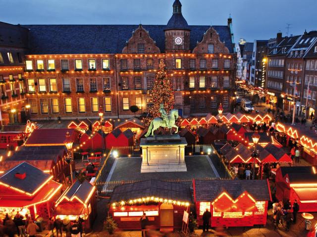 Kerstshoppen in <b>Düsseldorf</b> incl. 4*-hotel met ontbijt
