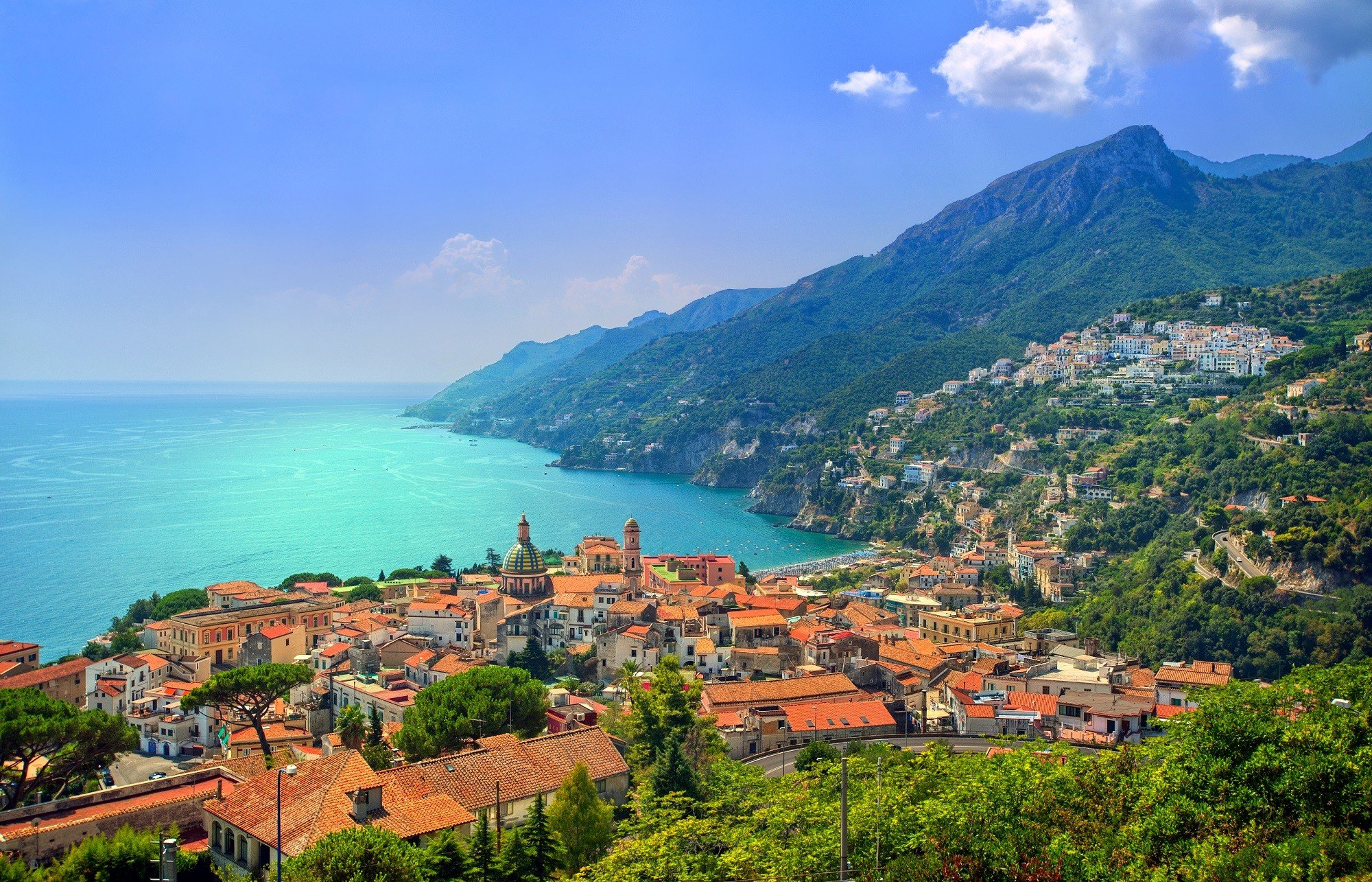 Dagaanbieding - 8-daagse fly en drive langs de prachtige Italiaanse Amalfikust incl. vlucht en autohuur dagelijkse koopjes