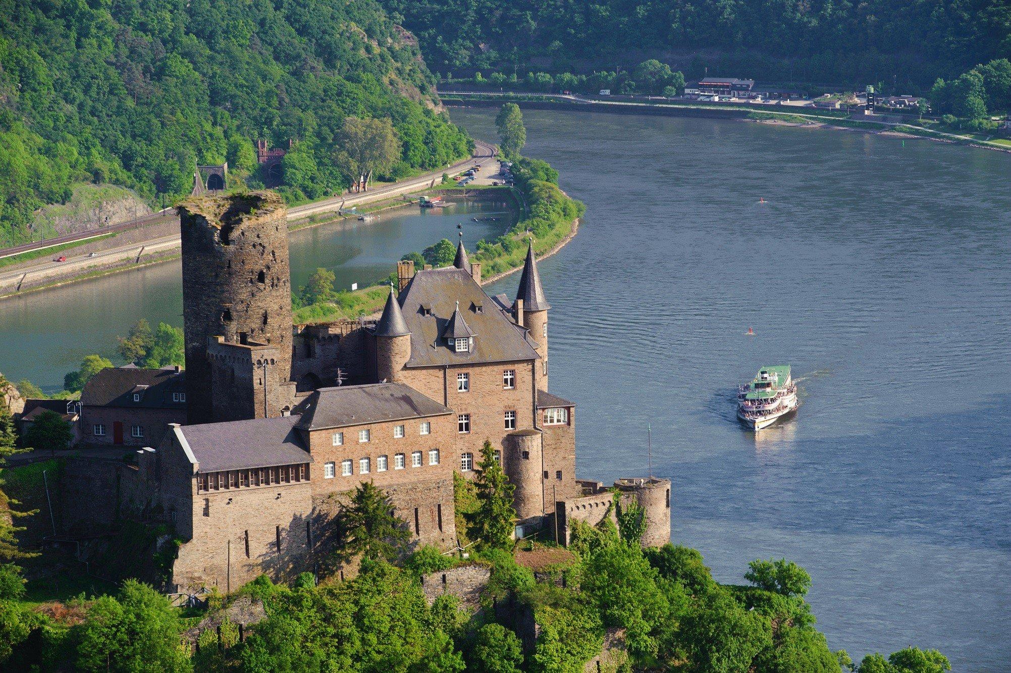 Dagaanbieding - 4 of 5 dagen kastelen en wijngaarden in de romantische Midden-Rijn o.b.v. halfpension incl. boottrip dagelijkse koopjes