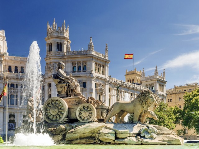 Stedentrip <b>Madrid</b> incl. vlucht en verblijf in 4*-hotel incl. ontbijt