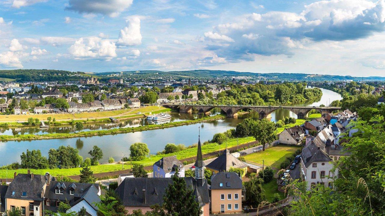 Hambachtal - Duitsland - rheinland-Pfalz - Oberhambach