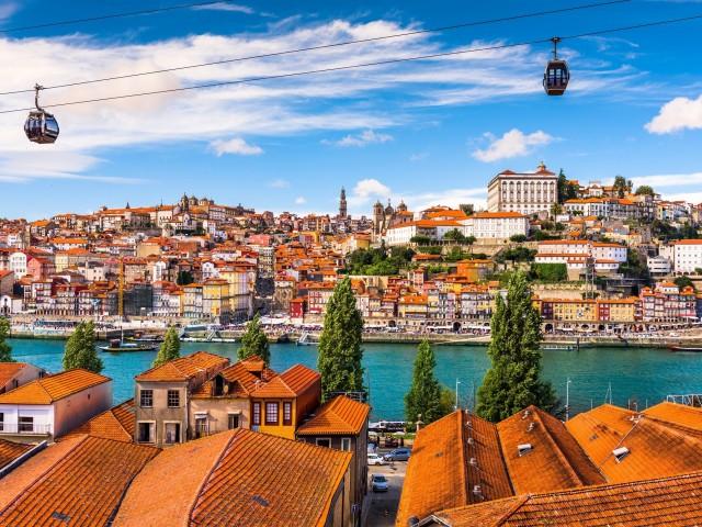 Stedentrip naar <b>Porto</b> incl. vlucht, transfer ontbijt en verblijf in een 4*-hotel in centrum