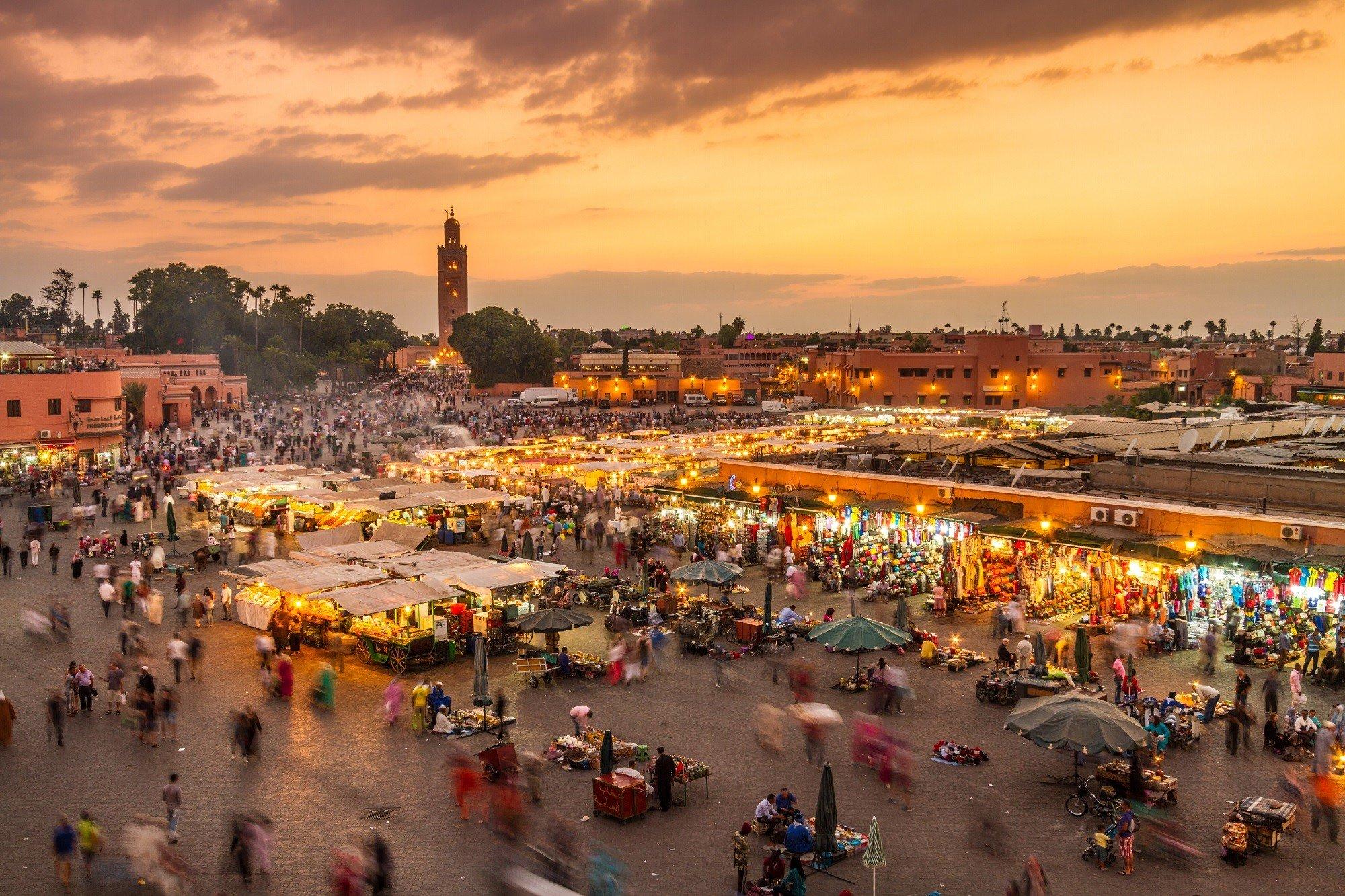 Dagaanbieding - 4-, 5- of 6-daagse stedentrip naar het prachtige Marrakech incl. retourvlucht dagelijkse koopjes