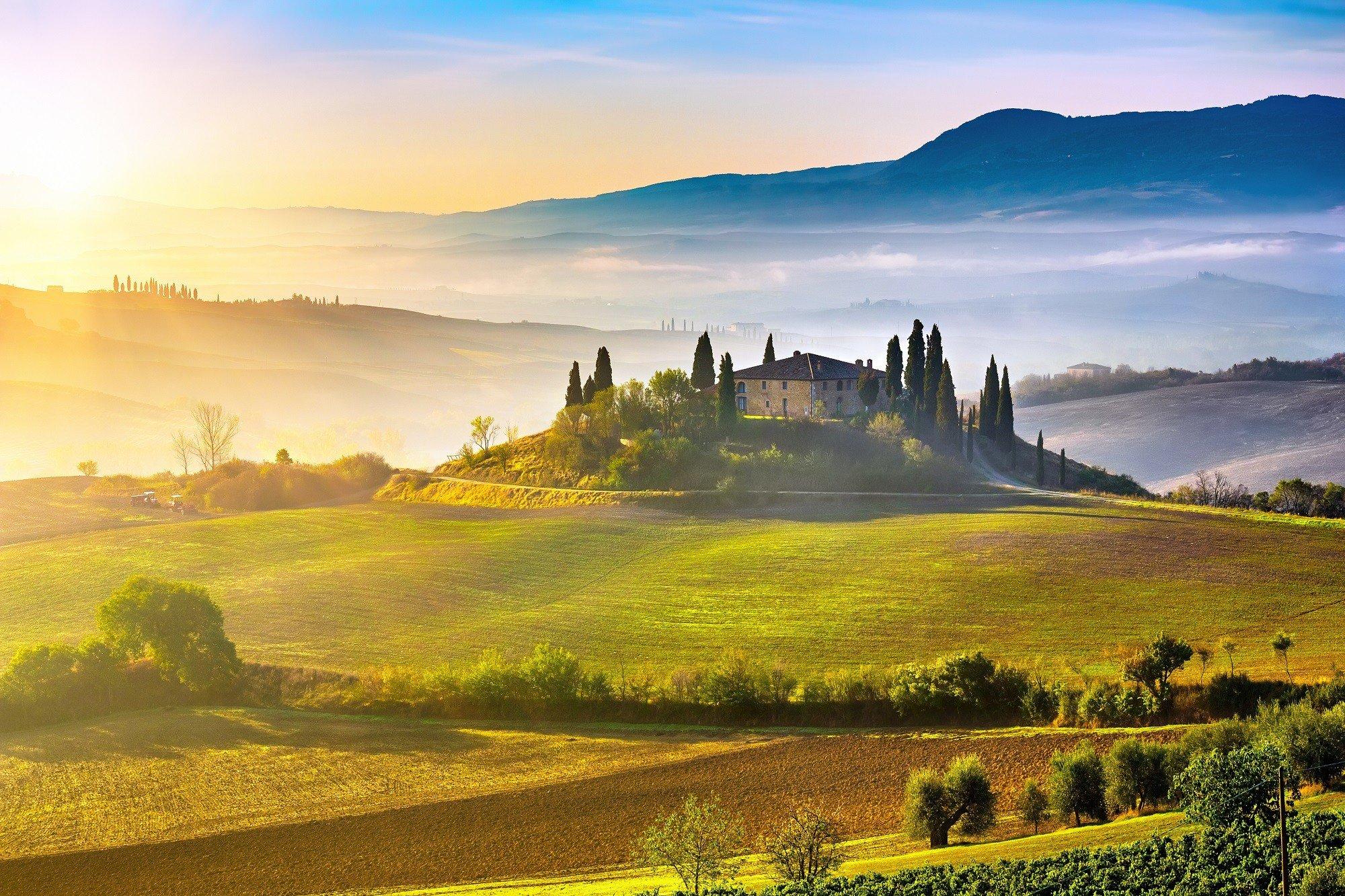 Dagaanbieding - 8, 11 of 15-daagse fly en drive door Toscane en Umbrië incl. vlucht en autohuur dagelijkse koopjes