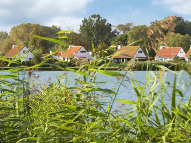 Vakantiehuis in <b>Sunparks</b> vlakbij het <b>Noordzeestrand</b> in <b>België</b>