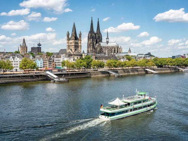 Verblijf o.b.v. halfpension aan <b>de Rijn</b> nabij <b>Koblenz</b>