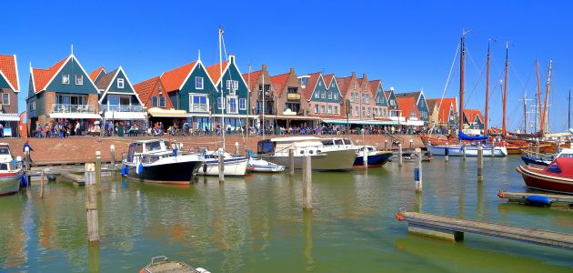Dagaanbieding: 2 of 3 dagen in authentiek art Hotel Spaander aan de dijk in Volendam incl. 3-gangendiner