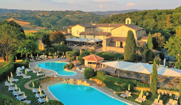 Verblijf 6, 8 of 15 dagen genieten in de prachtige heuvels van Umbrië in Italië o.b.v. halfpension