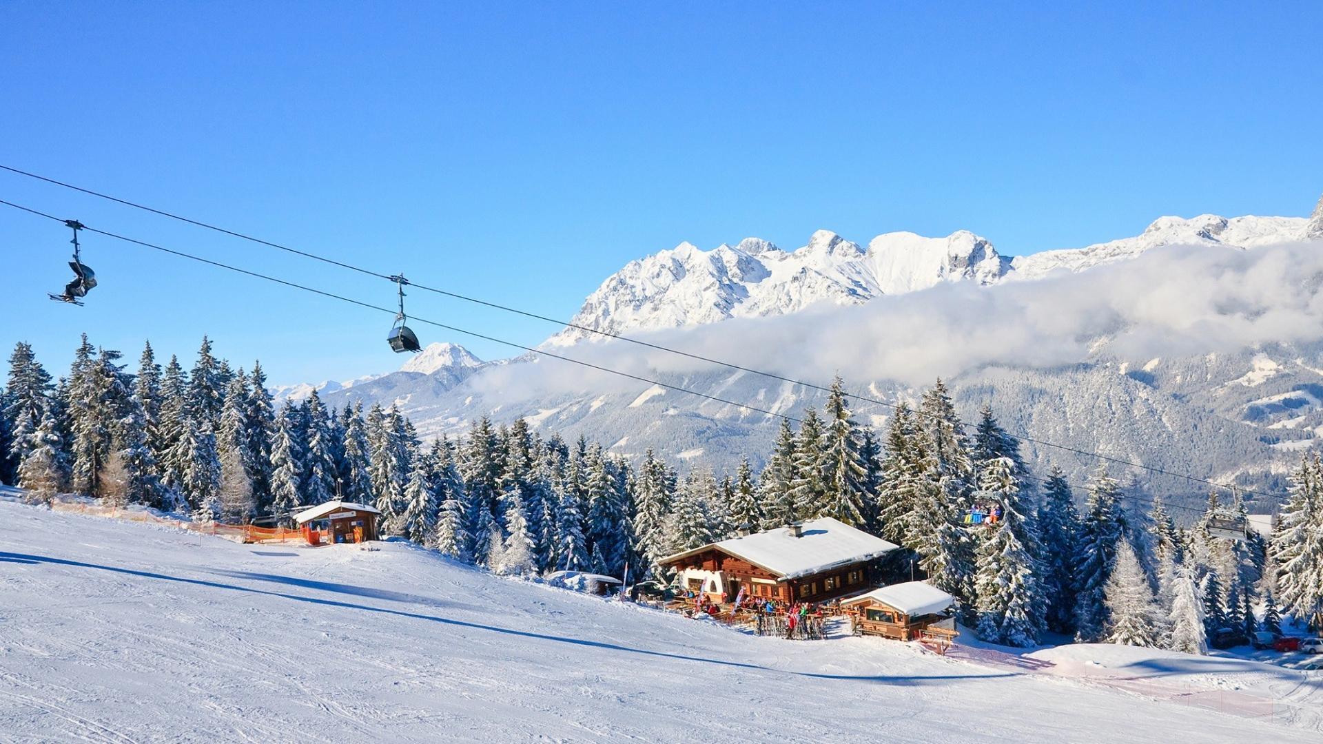 4, 5, 6 of 8 dagen halfpension genieten van de sneeuw in <b>Oostenrijk</b>