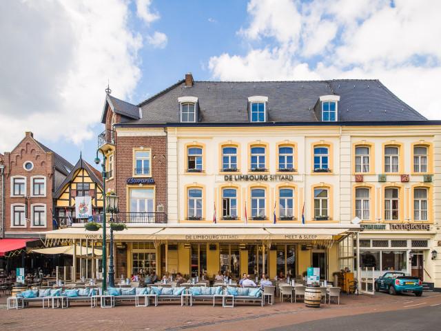 Verblijf in het centrum van <b>Sittard</b> in Limburg o.b.v. halfpension