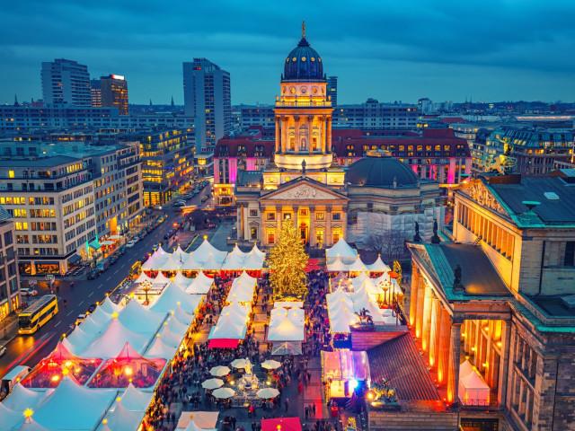 Ontdek magisch <b>Berlijn</b> tijdens de kerstperiode incl. vlucht